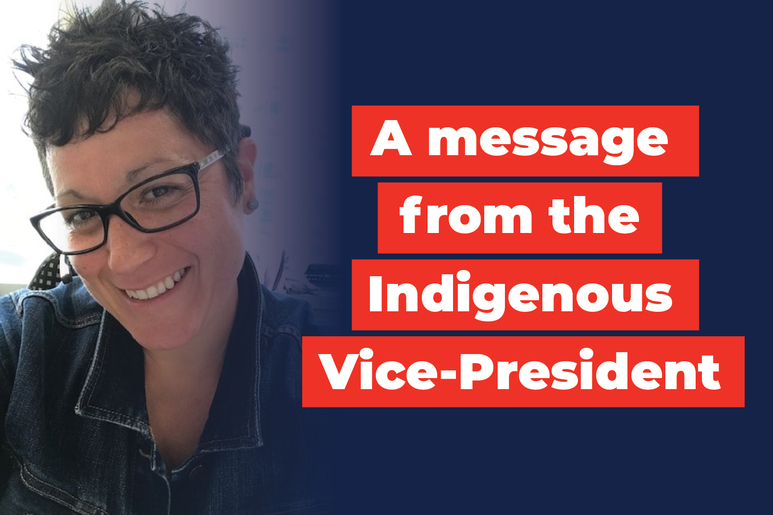 A message from the Indigenous Vice-President