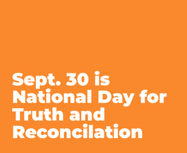 Honouring National Day of Truth and Reconciliation