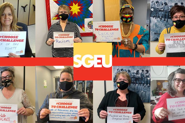 SGEU celebrates International Women's Day